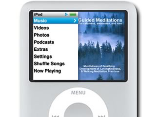 Portable meditations for your iPod