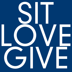 sit : love : give