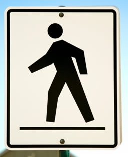 walking meditation - signpost