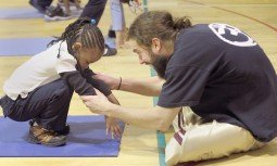 Yoga, meditation program helps city youths cope with stress