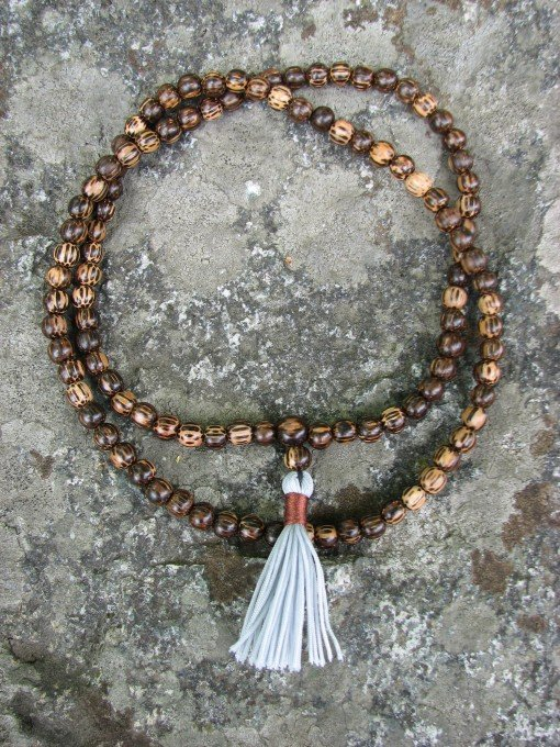 old palmwood mala