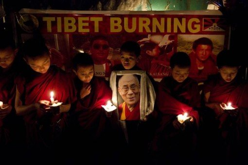Tibet_burning_Dalai_Lama