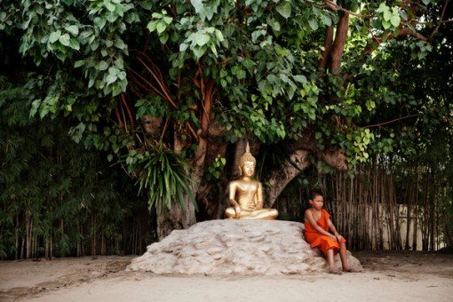 thailand boy monk