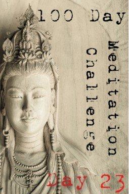 100 day meditation challenge 023