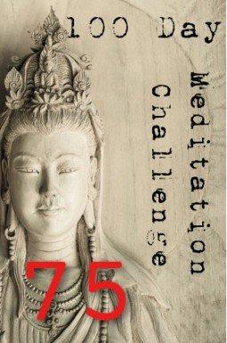 100 day meditation challenge 075
