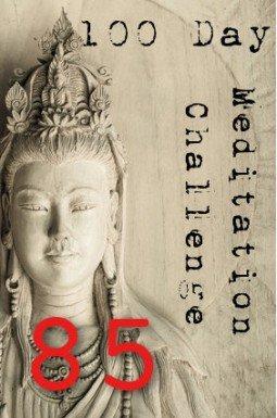 100 day meditation challenge 085