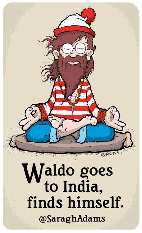 waldo meditates