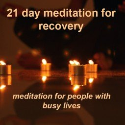Meditation for Recovery square
