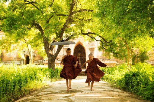 http://www.dreamstime.com/stock-photos-two-little-monks-running-outdoors-image30569393