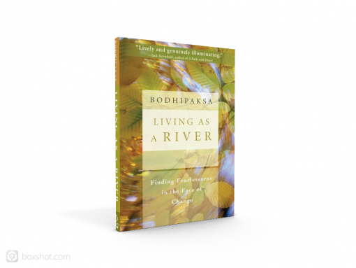 """My book, """"Living as a River,"""" is an experiential exploration of the Buddhist teaching of non-self."""