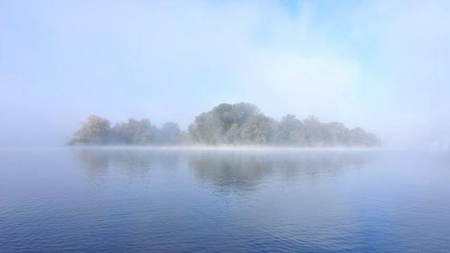 still lake scene