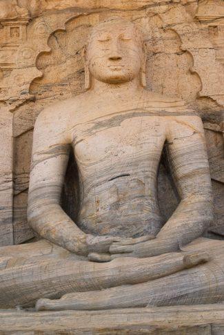 43583284 - meditating buddha statue at gal vihare, polonnaruwa, sri lanka