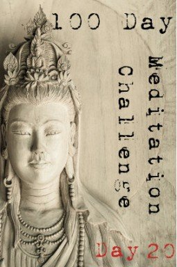 100 day meditation challenge 020