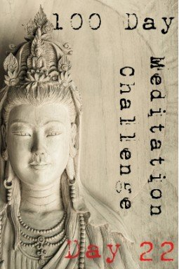 100 day meditation challenge 022
