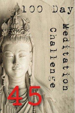 100 day meditation challenge 045