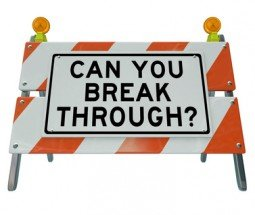 Can You Break Through Question on Barricade Roadblock