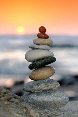 Sunset Stone Pile