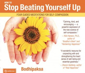 bodhipaksa self-compassion CD